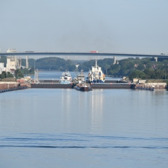 Entrance to Kiel Canal
