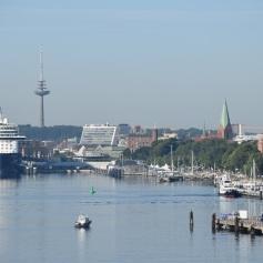 Approaching Kiel